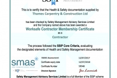 SMAS certifcate July17